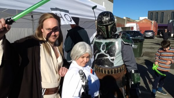Rangiora Waimakariri North Canterbury Event Winter Festival Fest 2017 Star Wars Bobafett Princess Leia Jedi