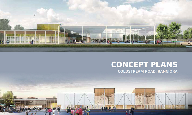 Multi-Use Sports Facility is coming
